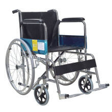 Cheap Hospital Wheelchair Standard steel Manual wheelchair